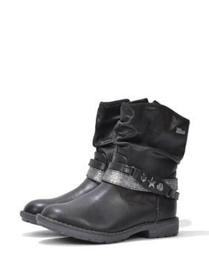 Півчобітки чорні з декором | 5694069