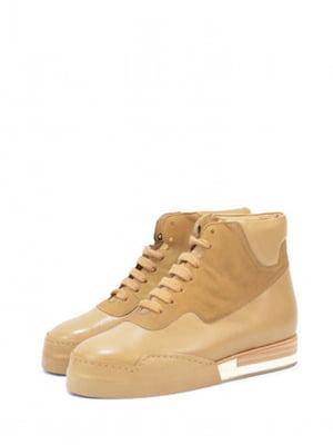 Ботинки бежевого цвета | 5694178