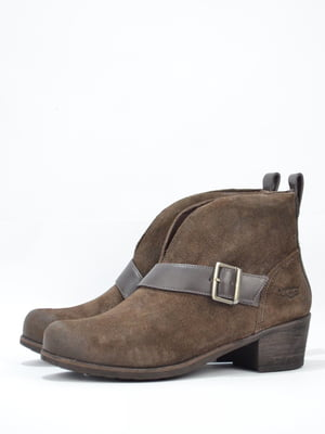 Ботинки коричневого цвета | 5694235