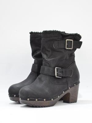 Ботинки черные | 5694237