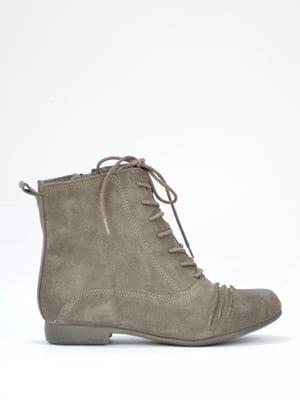 Ботинки серые | 5694240