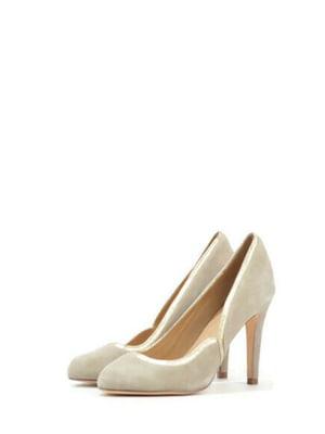 Туфлі бежевого кольору | 5694292