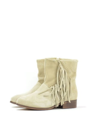 Ботинки бежевого цвета | 5694387