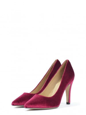 Туфлі бордового кольору | 5694410