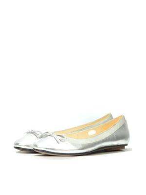 Балетки сріблястого кольору | 5694425