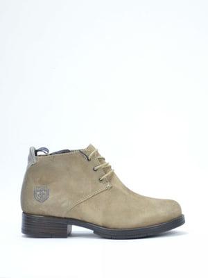 Ботинки бежевого цвета | 5694474