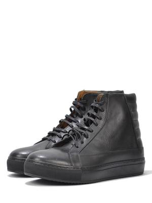 Ботинки черные   5694555