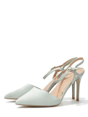 Туфли оливкового цвета | 5694573