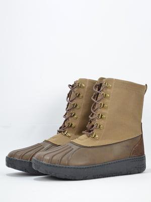 Ботинки коричневого цвета | 5694584