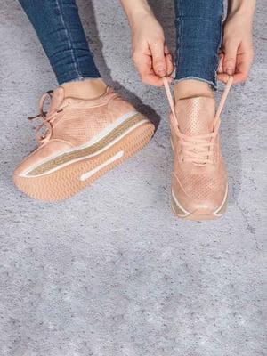 Кросівки рожеві | 5643003