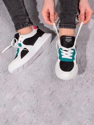 Кросівки триколірні | 5643177