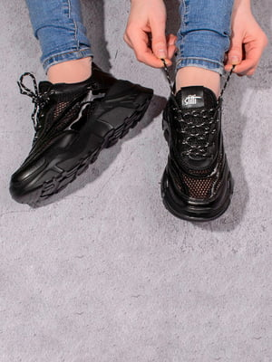 Кросівки чорні | 5643210