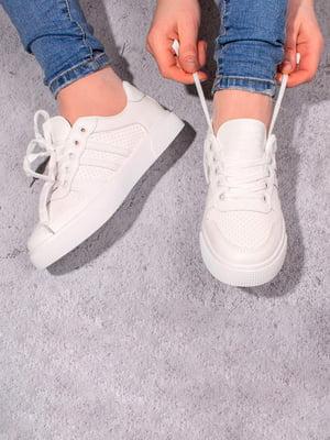 Кроссовки белые   5643226