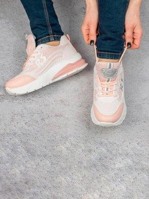 Кросівки рожеві | 5643337