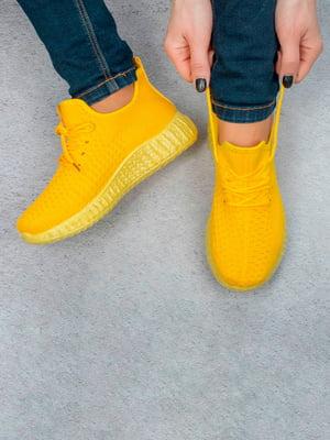 Кроссовки желтые   5643357