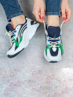 Кросівки триколірні | 5643389