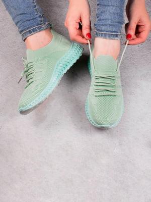 Кросівки зелені | 5643479