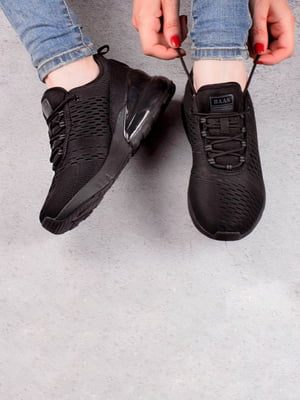 Кроссовки черные   5643534