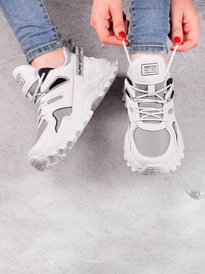 Кросівки біло-сірі   5643559