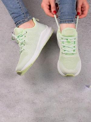 Кросівки світло-зелені | 5643567