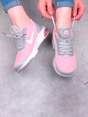 Кросівки рожево-сірі | 5643750
