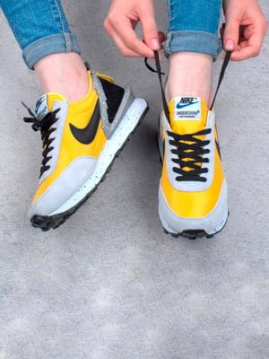 Кроссовки серо-желтые | 5643761