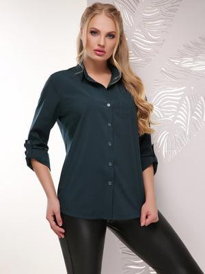 Рубашка зеленого цвета | 5694961
