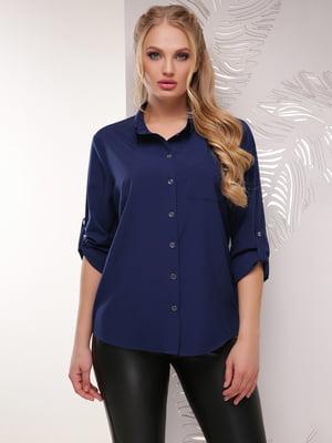 Рубашка синяя | 5694962