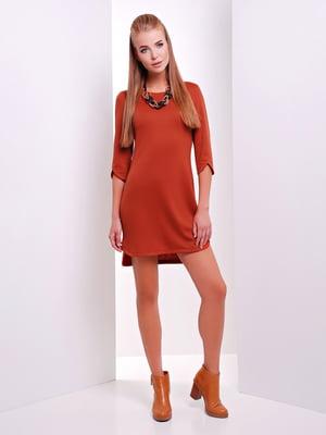 Платье кирпичного цвета | 5694972