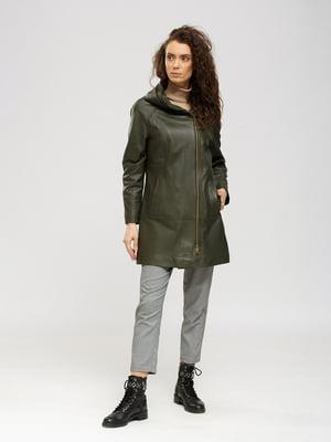 Куртка цвета хаки | 5695029