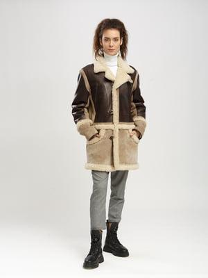 Куртка-дублянка двоколірна   5695041