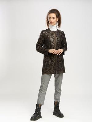 Куртка з анімалістичним принтом | 5695078
