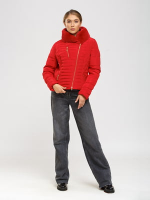 Куртка червоного кольору | 5695127