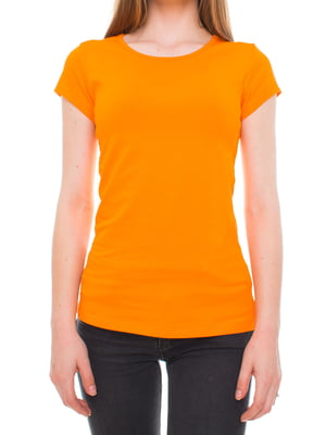 Футболка оранжевая | 5694636
