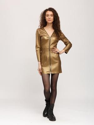 Сукня золотистого кольору   5694976