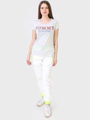 Штани спортивні молочного кольору | 5683919