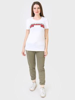 Штани кольору хакі | 5683921