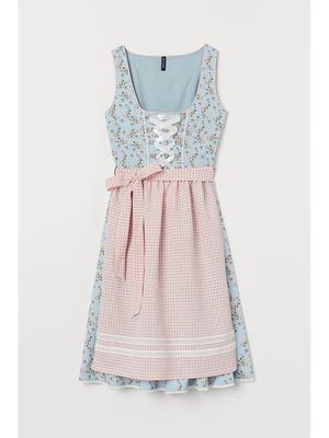 Комплект: платье и фартук | 5696271