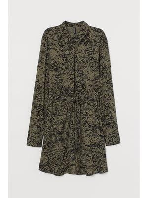 Сукня кольору хакі | 5696589