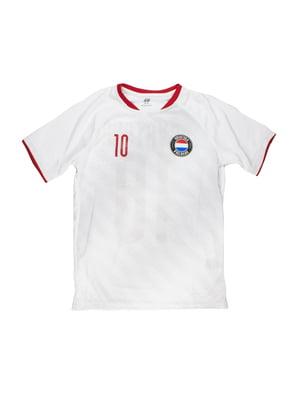 Футболка белая с принтом   5696725