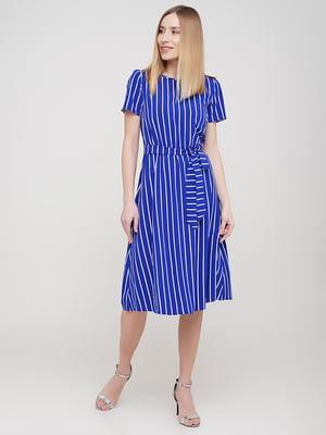 Сукня синя в смужку | 5696844
