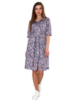 Платье с цветочным принтом | 5696858