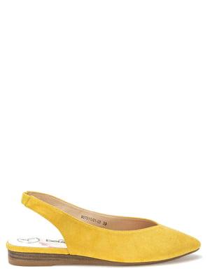 Туфли желтые   5696954