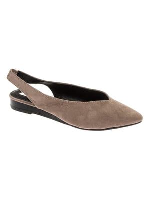 Туфли темно-бежевые   5696977