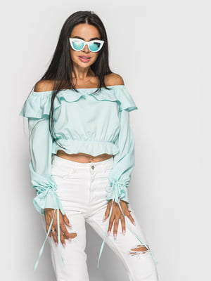 Блуза мятного цвета   5697067