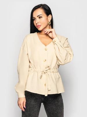 Блуза бежевая   5697070