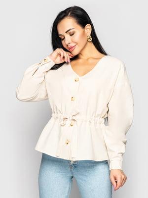 Блуза молочного цвета   5697072