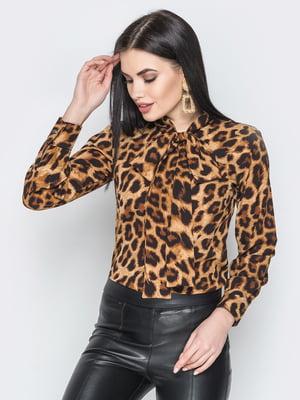 Блуза анималистической расцветки   5697074