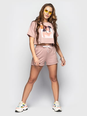 Костюм: футболка и шорты | 5697228