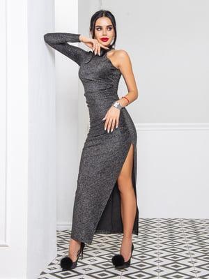 Сукня чорно-срібляста | 5697314